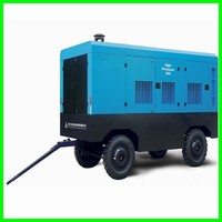 high pressure screw air compressor with two stage/two stage screw air compressor for water well drilling rig