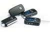 2015 One Way Type Car alarm+ RFID motorcycle alarm, 3pcs tag keyless entry engine lock
