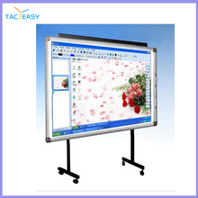 Portable interactive whiteboard 10 points smart whiteboard for classrooms and offices