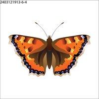 Body Art Non Toxic Tattoos - Butterfly Tattoo - 1107121144