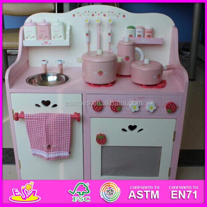 Voorraad houten keuken speelgoed voor kinderen, aardbei speelgoed ...