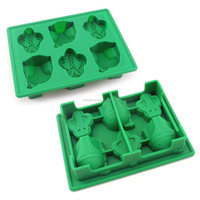 FDA approved food grade non stick microwave oven freezer safe star wars Boba Fett wholesale moldes de silicona silicone bpa free