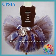 World Cup Tutu Dress&Outfit Set Fluffy Football Cotton T-shirt & Tutu Skirt set 100% Handmade fluffy tutu skirt set for Baby