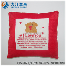 Plush cushion, Customised toys,CE/ASTM safety stardard