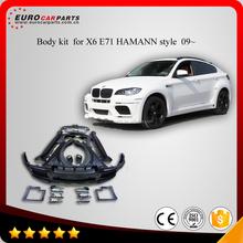 Body kit for BM X6 E71 HAMAN style 09~ FRP material