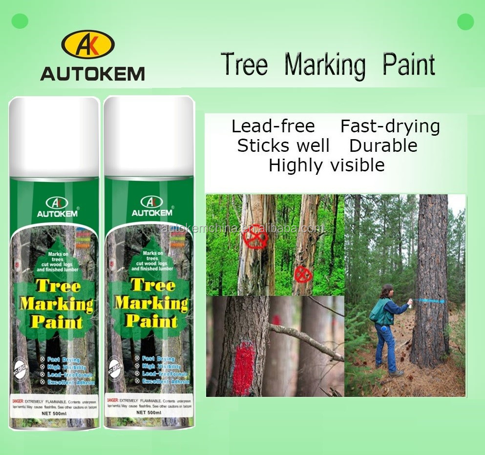 Hot sale tree timber log wood marking paint marking paint for tree