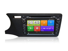 For Honda City 2014 LHD car dvd gps navigation with 3G wifi and OBD