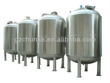 CK- 0.5T hot water tank price /stainless steel water tank price/cooling system for water tankd with flange connection