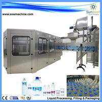 New customized automatic 3 gallon water bottling plant