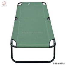 Metal Frame Camping Bed Type Military Folding Camping Bed