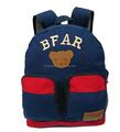 piccolo orso zaino scuola con un design cartoon sacchetto di scuola per i bambini