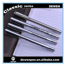 Hot selling ---High Quality Stainless steel fountain pen with Germany Iridium tip 1.0mm