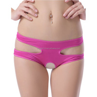 Multi colors hallow-out sexy design ladies tight panty