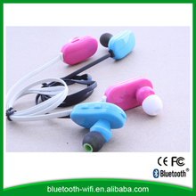 CE FCC ROHS approval small size bluetooth headset for iphons/ipad/samsung