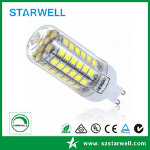 High quality promotional 2015 new g9 led light bulb 5w silicone