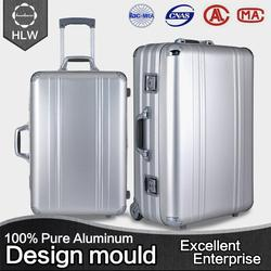 HLW Manufacturer custom carry-on abs luggage