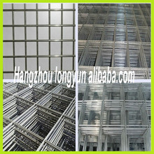 2x2 galvanized welded wire mesh panel, welded wire mesh panel, galvanized welded mesh