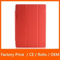 Hot Selling Slim Magnetic PU Leather Stand Smart Cover For Apple iPad Mini