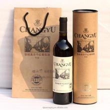 Luxury Brands Wine Bottle Packaging Paper Bag Pattern Christmas