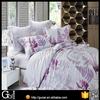 100% egyptian cotton bed sheet sets flower printed luxury european bed sheet set