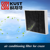 Activated Carbon Car Air Conditioning Filter For Cruze 2009 To 2014 For Chevrolet Car Filter Air Conditioning Cleaner For Cruze