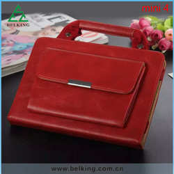 Colorful PU Bag Leather Case For Ipad Mini 4 Folio Leather Case Shock Proof Wallet Phone Case