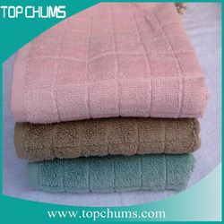 China supplier wholesale absorbent plain organic cotton tea towels