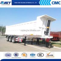 CIMC 3 axle 60 Ton tipper truck /Semi Trailer on sale