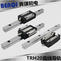 Heavy load motion linear guide rail TRH20 for CNC