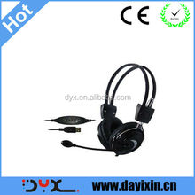 usb headset intercom system wireless headphone for wholesale