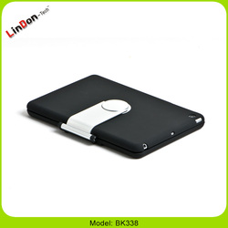 2015 New Arrival Wireless 360 Degree Rotate Case ABS Keyboard for iPad mini BK338