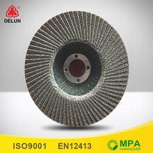 zirconium aluminium hundred pages wheel polishing flap wheel