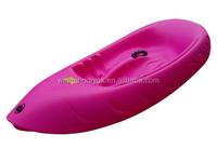 2015 plastic kid fun manufacturing single kayak sit on top customize paddling kayak