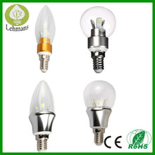 2014 New design! 360 led candle light,e27 led 360 degree bulb 3w e14 e27,e27 360 degree led bulb lighting manufacture china