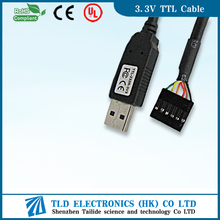 6 pin USB to FTDI RS232 Serial TTL Adapter console Cable 5V