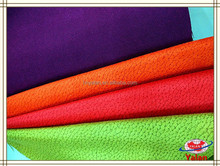 china colorful popular durable upholstery woven suede fabric for sofa