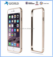 High quality aluminium bumper case for iphone 6, metal bumper case