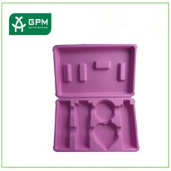 High quality biodegradable eco friendly pink small cosmetic containers