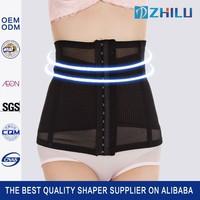 Fashionable and fat burning and slimming waist belt waist shaper belt heated