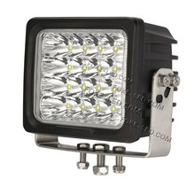 aluminum housing square 6 inch led car accessories driving light SUV Boat 100 watt led work lamp spot flood
