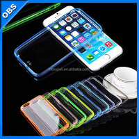 2014 TPU transparent ultrathin mobile phone case for iphone6 (OBS-PG6-M6701)