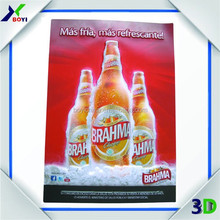 2014 best selling 3d advertising poster 3d pictures posters