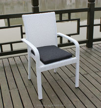 Cheap wicker chair, garden rattan chair, rattan stack chair
