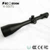 Riflescope manufacturers build 4-50x75 unlimited eye relief telescopic sight large objective lens sniper scope