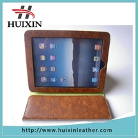 Alibaba cowhide leather factory cheap tablet leather case for ipad air2