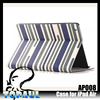 latest for ipad fancy wallet folded Leather felt design case for ipad