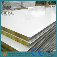EPS/glass/rock wool/mineral sandwich panel price for roof/wall