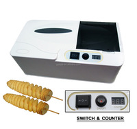 Electric twisted chips potato cutter