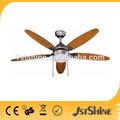 1stshine CE venta caliente en Europa ,América del Sur y África , 52 pulgadas, ventilador de techo decorativo con luz
