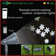 creative snowflake LED projection christmas ornament